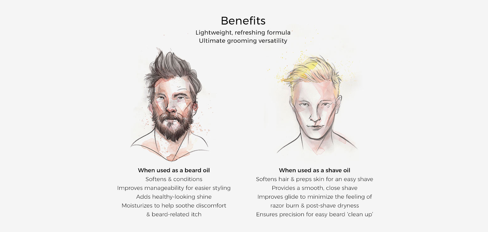 Benefits of The Grooming Oil 3-In-1 Shave and Beard Oil