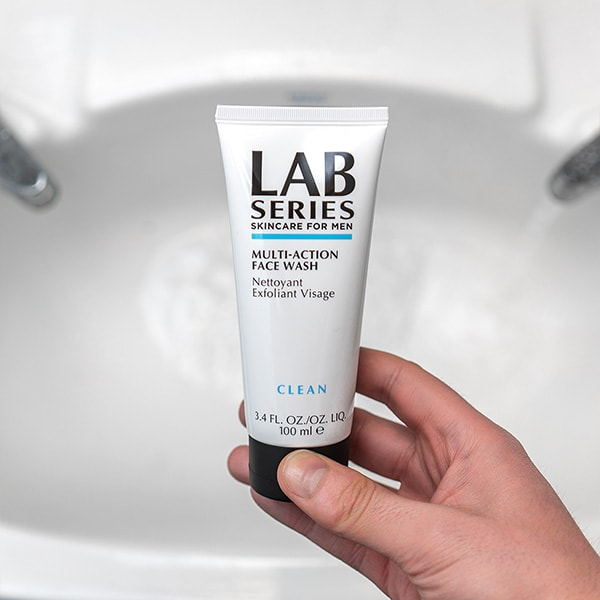 Multi-Action Face Wash